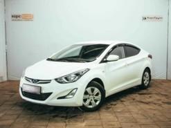 Hyundai Elantra 2015 г. (белый)