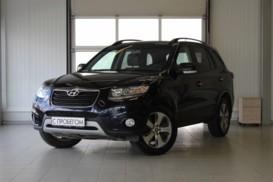 Hyundai Santa FE 2012 г. (синий)