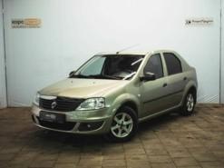 Renault Logan 2011 г. (бежевый)