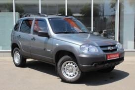 Chevrolet Niva 2014 г. (серый)