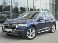 Audi Q5 2017 г. (синий)
