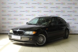 BMW 3er 2003 г. (черный)