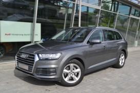 Audi Q7 2016 г. (серый)