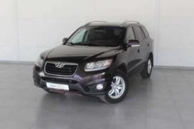 Hyundai Santa FE 2010 г. (фиолетовый)