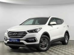 Hyundai Santa FE 2017 г. (белый)