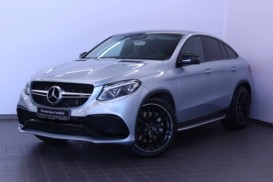 Mercedes-Benz AMG GLE Coupe 2016 г. (серебряный)