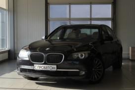 BMW 7er 2009 г. (черный)