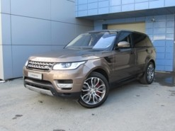 Land Rover Range Rover Sport 2014 г. (коричневый)