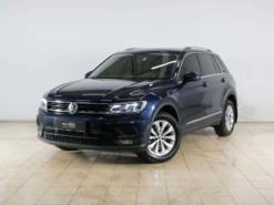 Volkswagen Tiguan 2017 г. (синий)