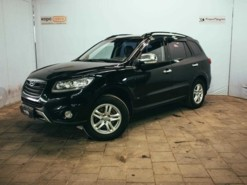 Hyundai Santa FE 2012 г. (черный)