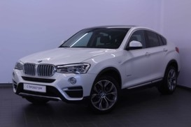 BMW X4 2014 г. (белый)