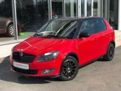Škoda Fabia 2014 г. (красный)
