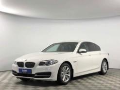 BMW 5er 2015 г. (белый)