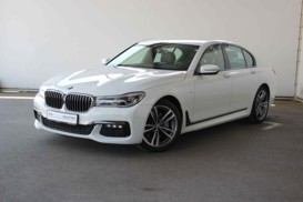 BMW 7er 2018 г. (белый)
