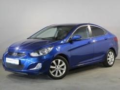 Hyundai Solaris 2011 г. (синий)