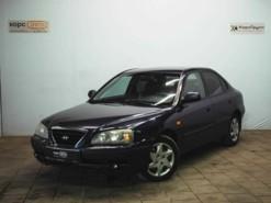 Hyundai Elantra 2008 г. (синий)