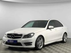 Mercedes-Benz C-klasse 2013 г. (белый)