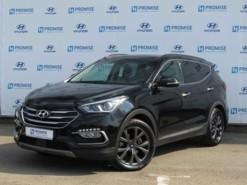 Hyundai Santa FE 2018 г. (черный)