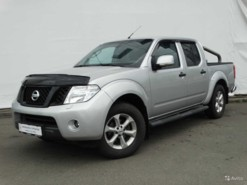 Nissan Navara 2012 г. (серебряный)