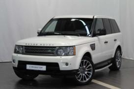 Land Rover Range Rover Sport 2009 г. (белый)