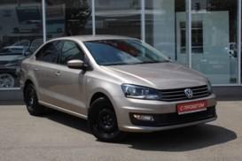 Volkswagen Polo 2016 г. (бежевый)