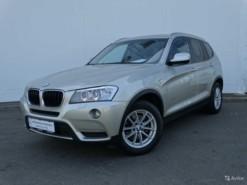BMW X3 2014 г. (серый)