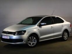 Volkswagen Polo 2011 г. (серебряный)