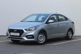 Hyundai Solaris 2018 г. (серебряный)
