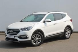 Hyundai Santa FE 2015 г. (серебряный)