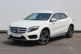 Mercedes-Benz GLA 2014 г. (белый)