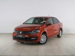 Volkswagen Polo 2016 г. (оранжевый)