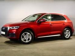 Audi Q5 2017 г. (красный)