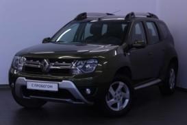 Renault Duster 2015 г. (зеленый)