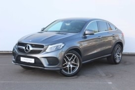 Mercedes-Benz GLE Coupe 2016 г. (серый)