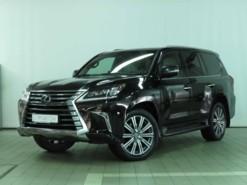 Lexus LX 2016 г. (черный)