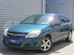 Opel Astra 2007 г. (синий)