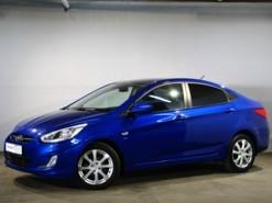 Hyundai Solaris 2013 г. (синий)