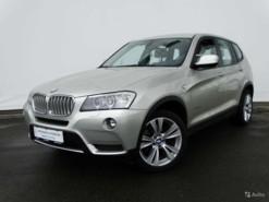 BMW X3 2010 г. (серебряный)