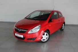 Opel Corsa 2007 г. (красный)