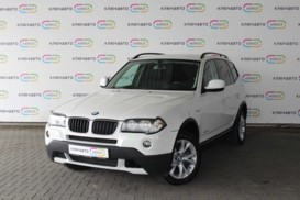BMW X3 2010 г. (белый)