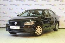 Volkswagen Jetta 2015 г. (черный)