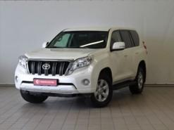Toyota Land Cruiser Prado 2015 г. (белый)