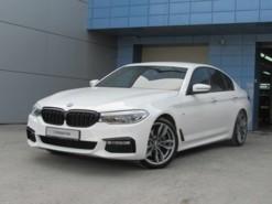 BMW 5er 2017 г. (белый)