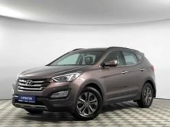 Hyundai Santa FE 2012 г. (коричневый)