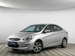 Hyundai Solaris 2014 г. (серебряный)