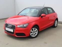 Audi A1 2014 г. (красный)