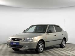Hyundai Accent 2007 г. (бежевый)