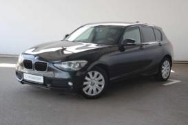 BMW 1er 2012 г. (черный)