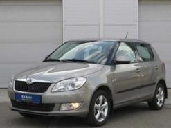 Škoda Fabia 2012 г. (бежевый)