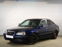 Hyundai Elantra 2005 г. (синий)